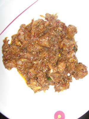 Mutton Fry