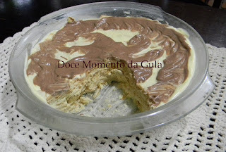 Torta de Bolacha Com Nata