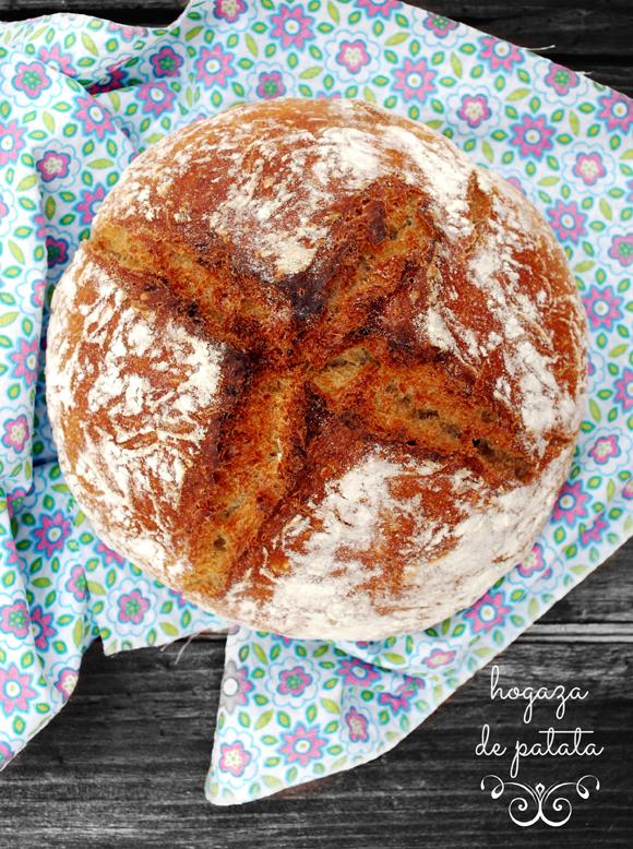 pan {hogaza} de patata #hechoamano - para memòries d'una cuinera