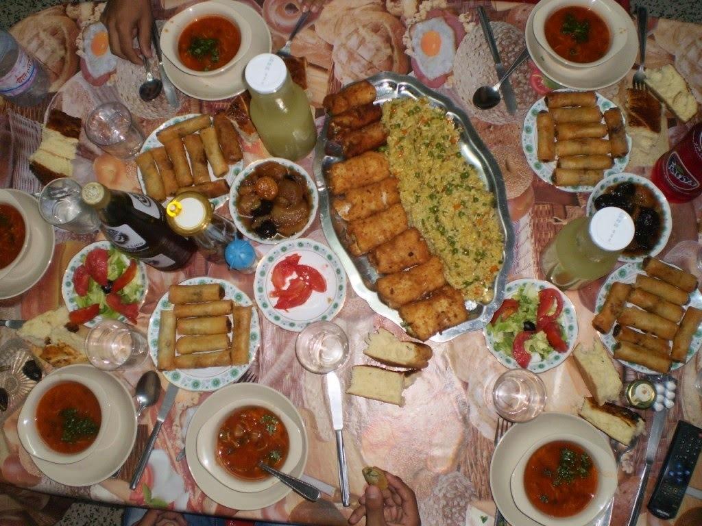Idées recettes pour le menu les repas plats pour le Ramadan 2014 (1435) et de l'Aïd El Kebir