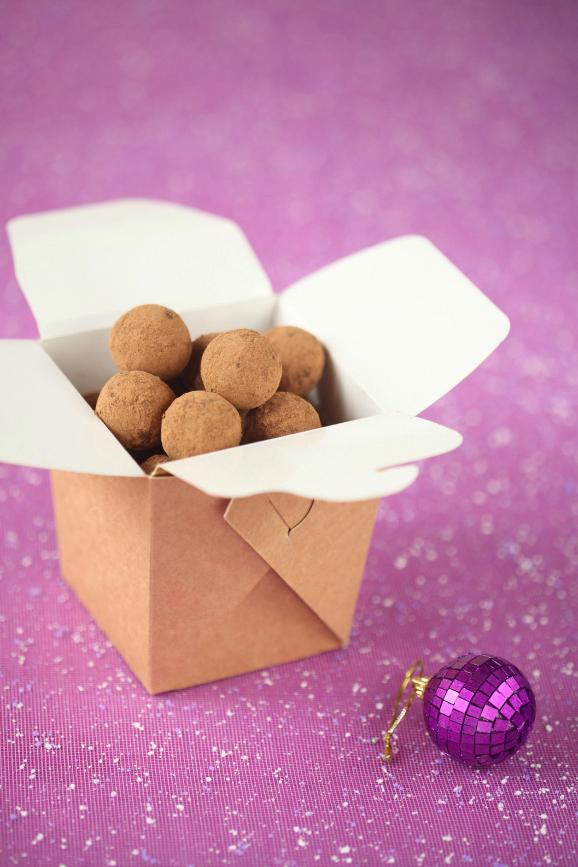 Шоколадно-миндальный трюфель / Trufas de chocolate e amêndoa