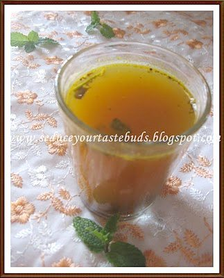 Minty Lemon Rasam
