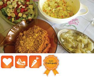 pratos para acompanhar churrasco