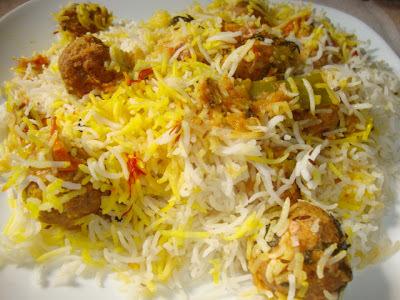 Kofta Biryani(Pakistani)