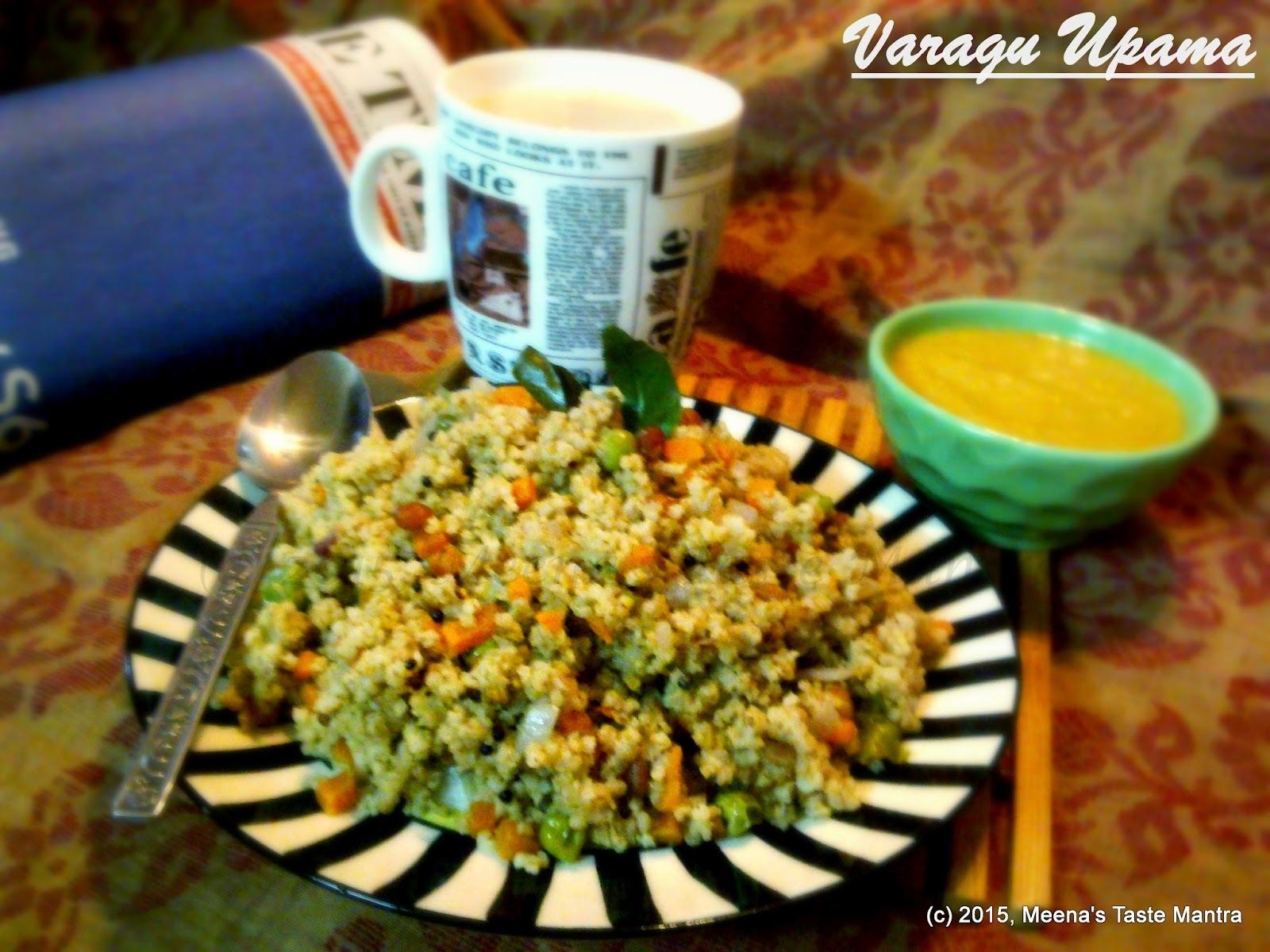 Varagu Upama | Kodo Millet Porridge - A nutritious Breakfast option with Millet