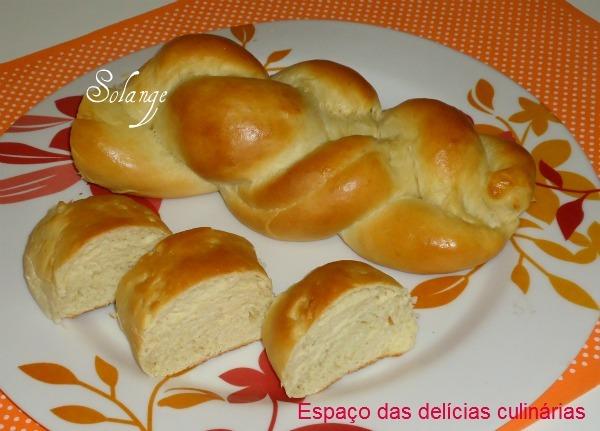 pão doce caseiro sem ovo