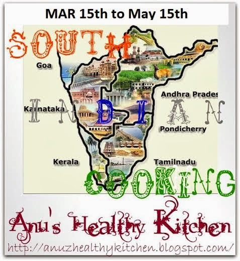 """South Indian Cooking"" - Event Announcement"