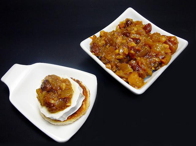 Chutney de Peras, Avellanas y Jengibre