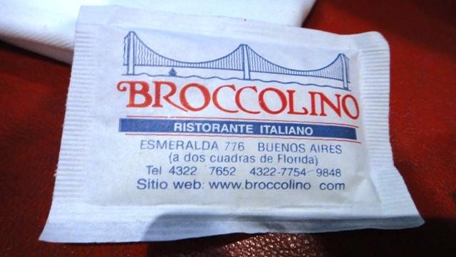 Buenos Aires: A deliciosa lasanha do Broccolino!