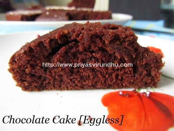 Chocolate Cake [Egg less]