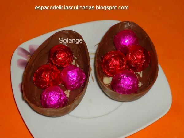 de bombons caseiro de chocolate recheado