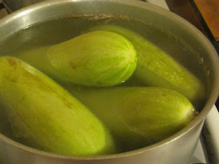 Zucchini Rellenos con Verdeo y Pollo al Graten