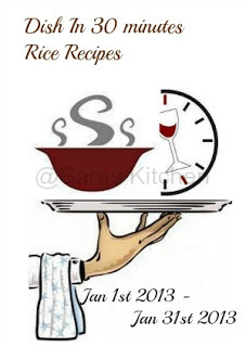 Dish in 30 minutes - Rice Recipes and Giveaway