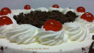 de torta selva negra facil