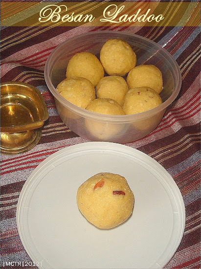 Besan ka Laddoos | Diwali Sweet Recipes