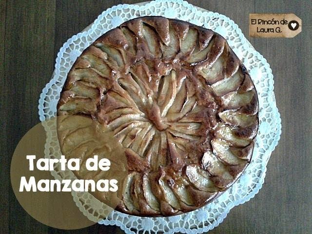 Receta de Tarta de Manzanas Exprés