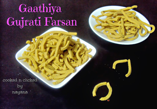 Gaathiya - A Gujrati Farsan  ( For ICC )