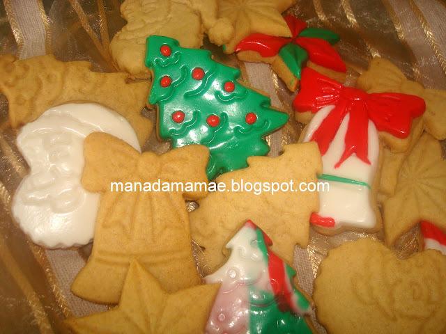 Biscoitos Temáticos ... de Natal