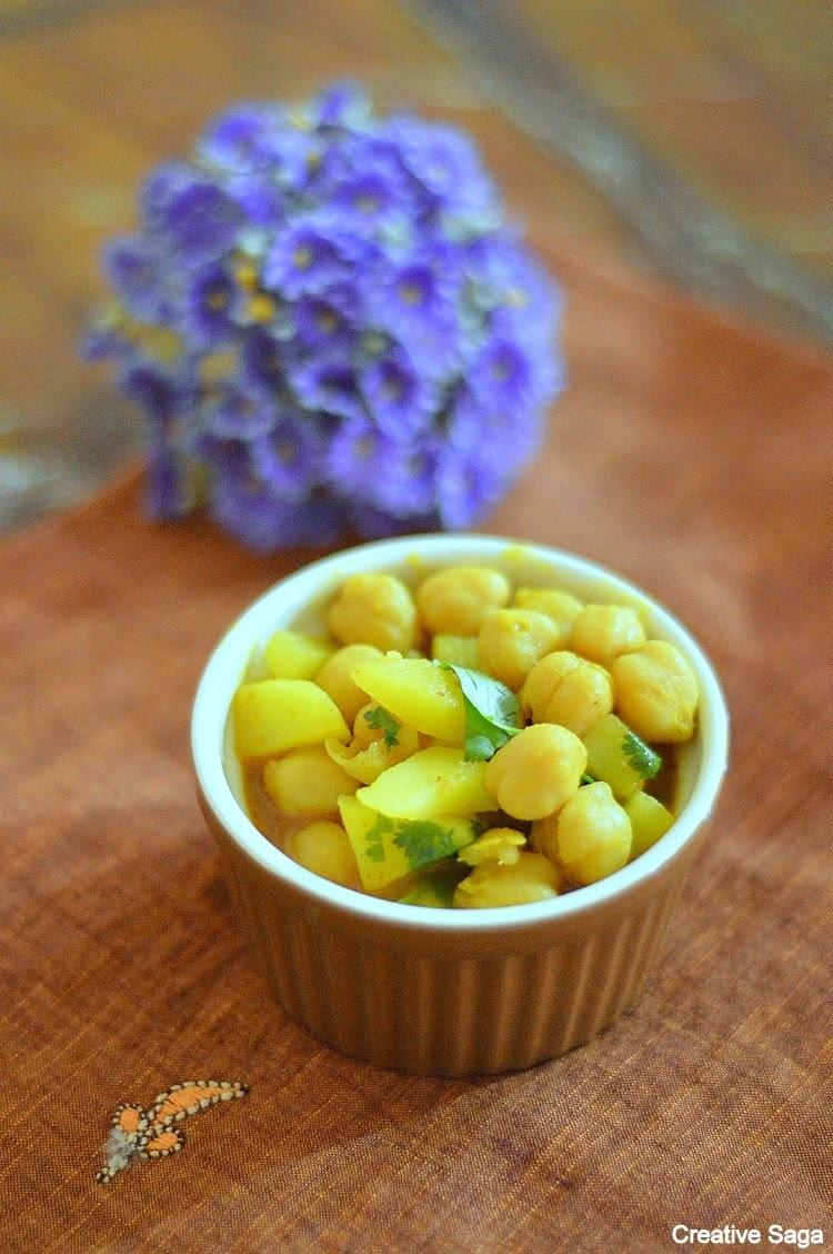 No onion no garlic chole recipe - channa masala recipe
