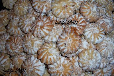 Gâteau sec aux graines de sésame
