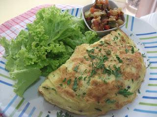 omelete sem carboidrato