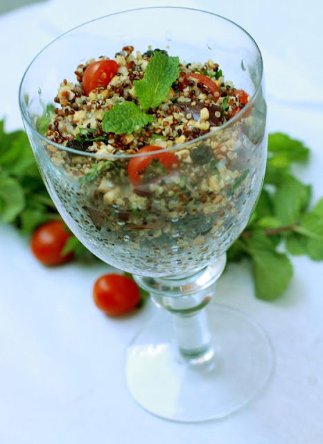 Couscous Marroquino de Quinoa (sem glúten e sem lactose)