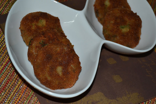 Aloo Tikki/ Potato Cutlets