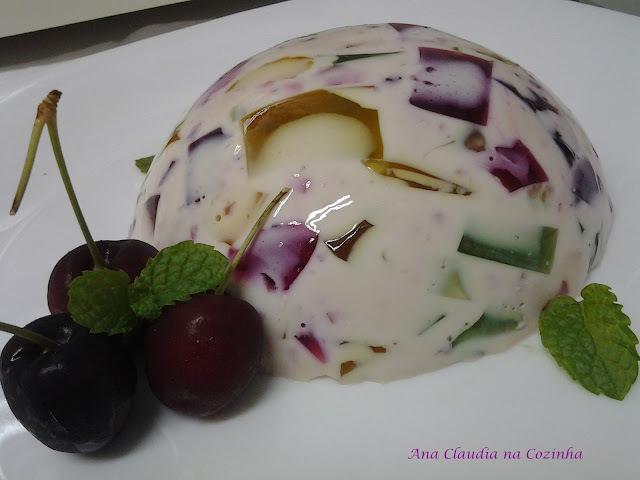 como fazer delicia de abacaxi com gelatina incolor