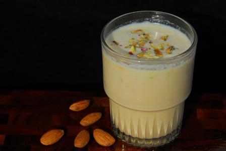 Badam Milk: Almond Shake