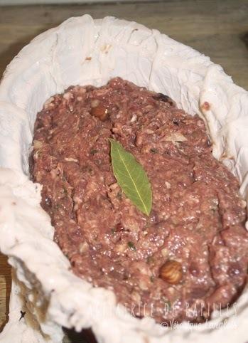 crépinettes de porc au four