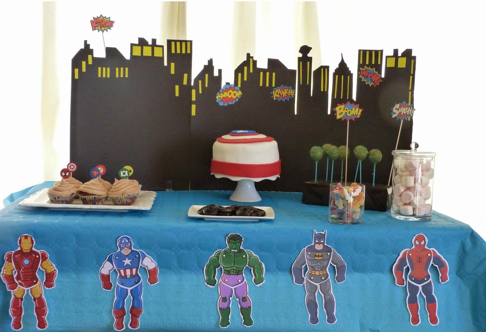 Qu'est ce que tu voudrai comme gâteau d'anniversaire?-Layer cake Captain América