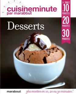 """""""Desserts"""", 360 receitas em 10, 20 ou 30 minutos!"""