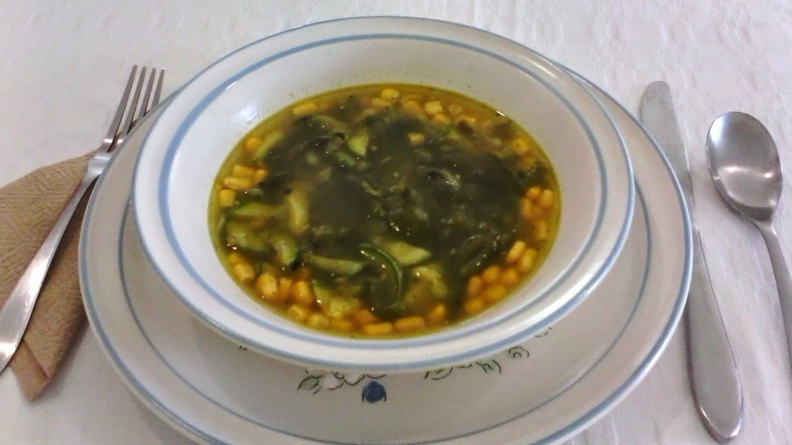 Sopa de Rajas