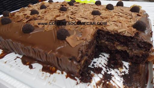 cobertura de chocolate crocante para bolo sem leite