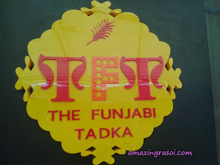 Review - The Funjabi Tadka, Bangalore