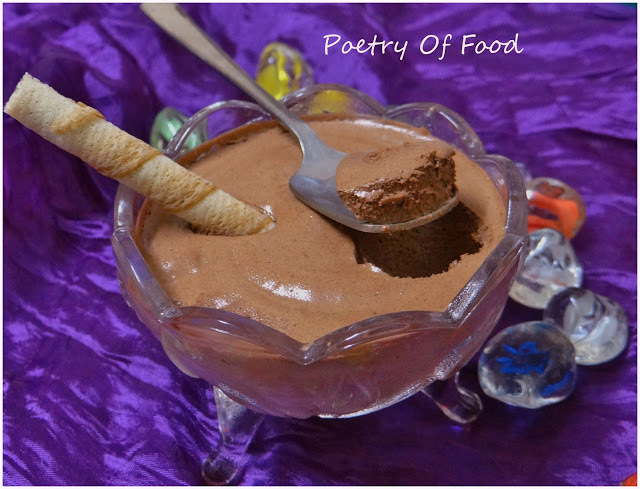 Quick Chocolate Mousse With Sanjeev Kapoor's Super Easy Process..!!