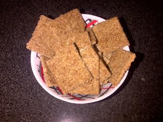 Galletas crocantes de coco sin harina