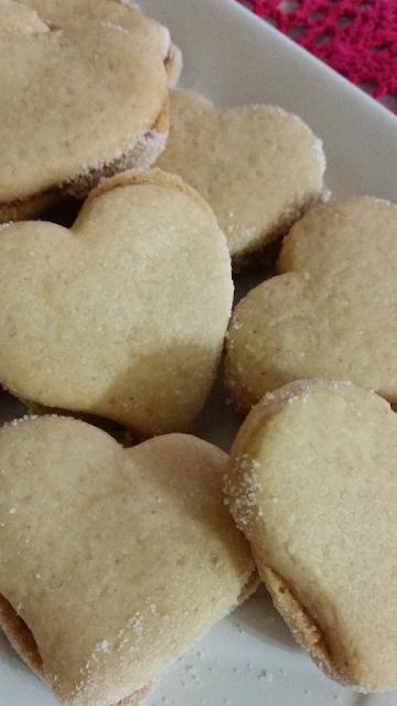 Biscoitos de Pasta de Amendoim
