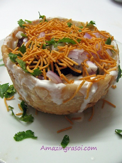 katori chaat in hindi