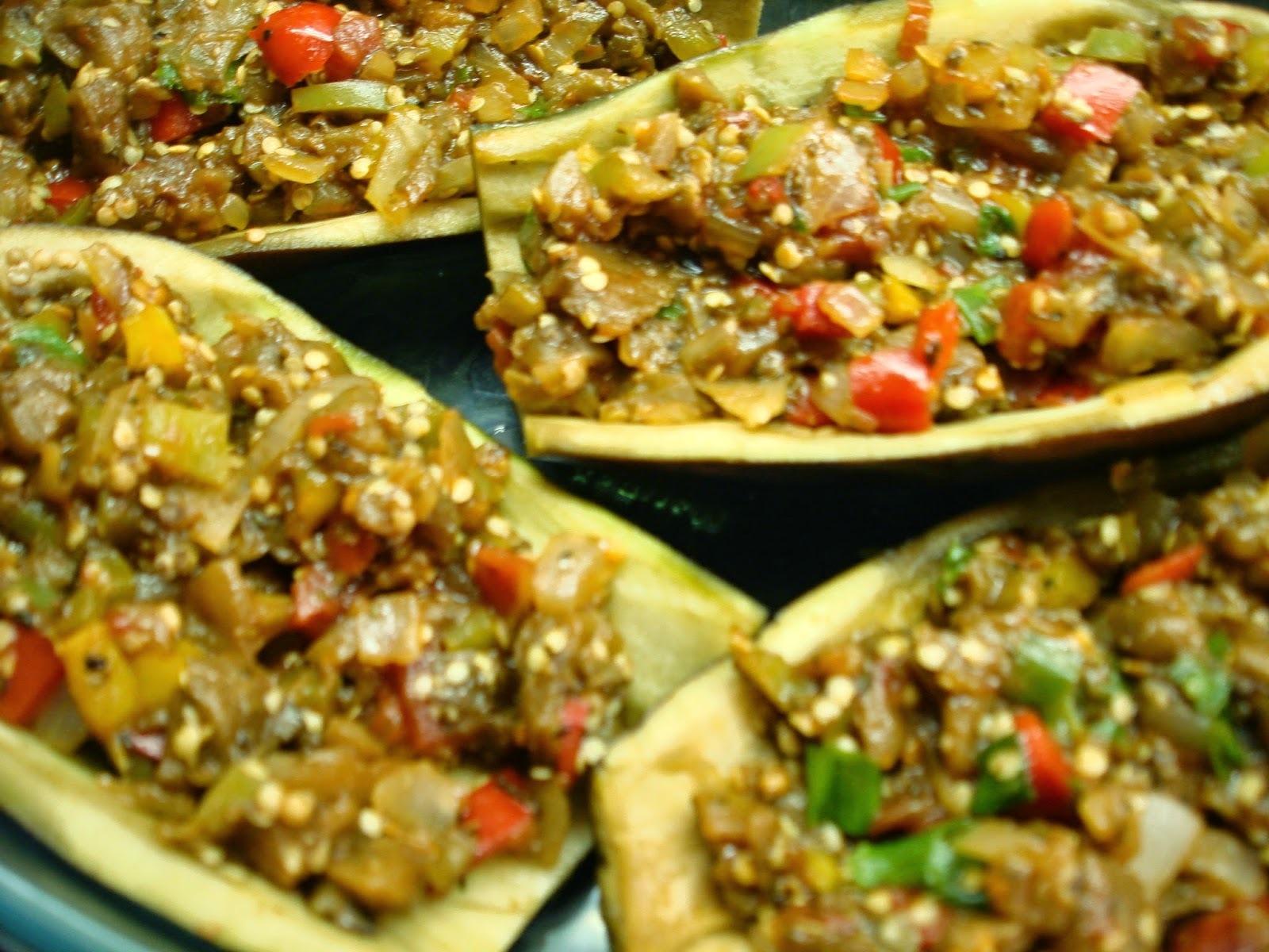 Entradinhas de Berinjela e Berinjela de Conchinha: tudo de forno, simples saudável e gostoso!