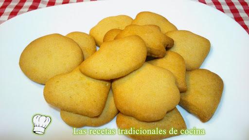Galletas de mantequilla receta fácil