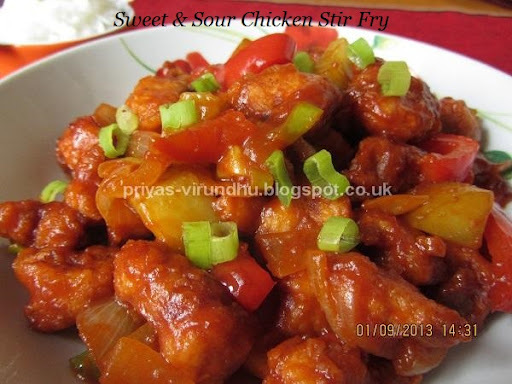 Cantonese Sweet and Sour Chicken Stir Fry - IFC1