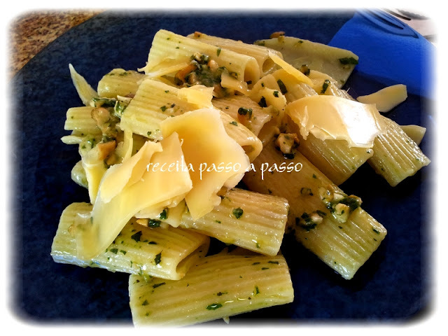 Rigatoni ao Pesto / Rigatoni al Pesto