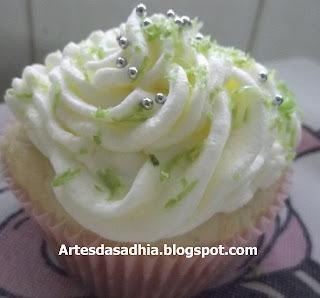 Cupcake  Torta de limão