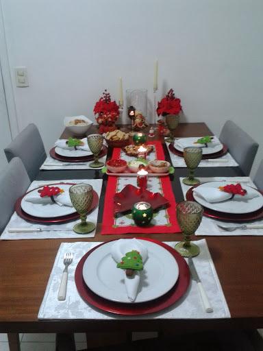 Jantar de Natal - Tender assado e salada de quinoa com bacalhau