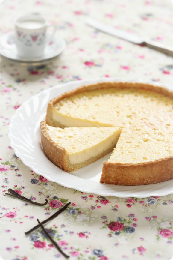 Тарт с ванильным кремом / Tarte com creme de baunilha