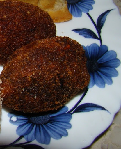 fish egg cutlet