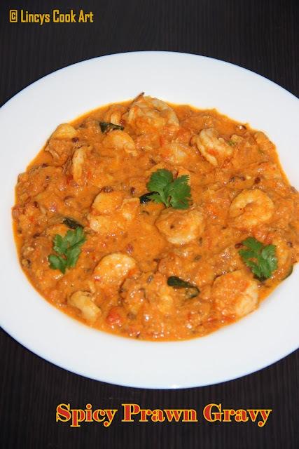 Prawn Gravy/ Prawn Thokku/ Spicy Prawn Curry