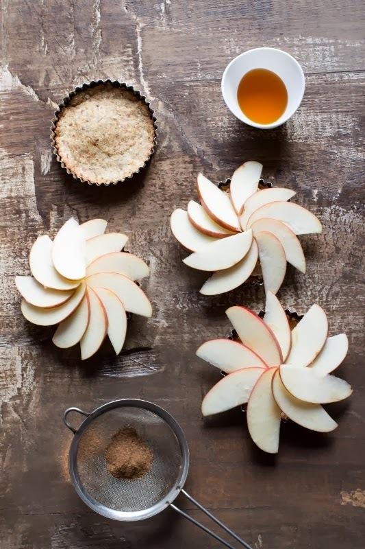 Tartaletas de Avena con Manzanas
