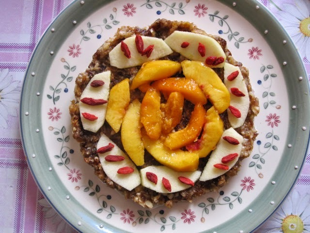 Torta de frutas tropical (crudista)